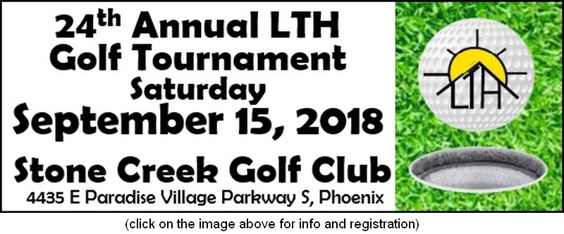 Click for information about the 2018 LTH Golf Tournament