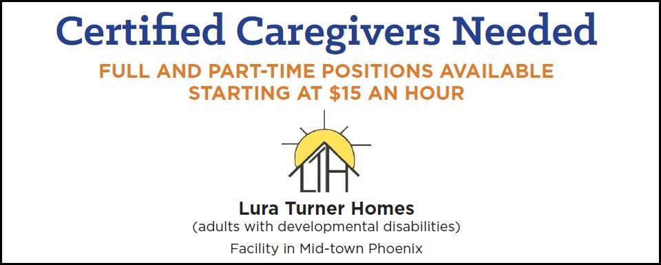 Certified Caregivers Needed